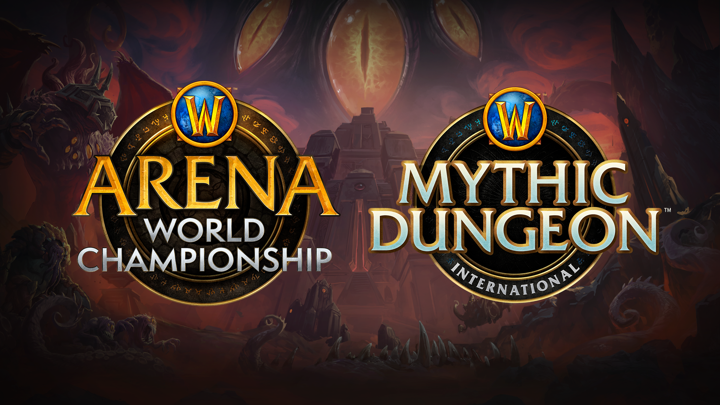 Planes para el Arena World Championship y el Mythic Dungeon International de 2020