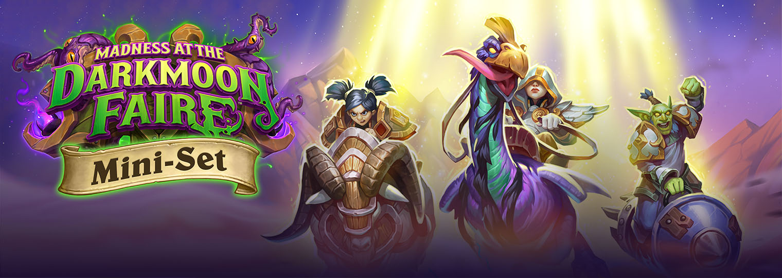 Start Your Engines, the Darkmoon Races Mini-Set is Here!