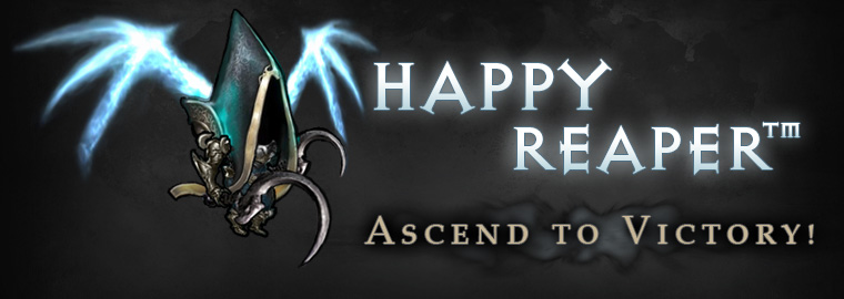 [April Fools] Ascend to Victory with Happy Reaper™