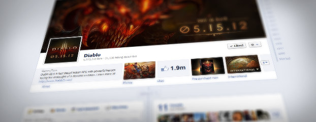 Check Out the New Blizzard Facebook Timelines