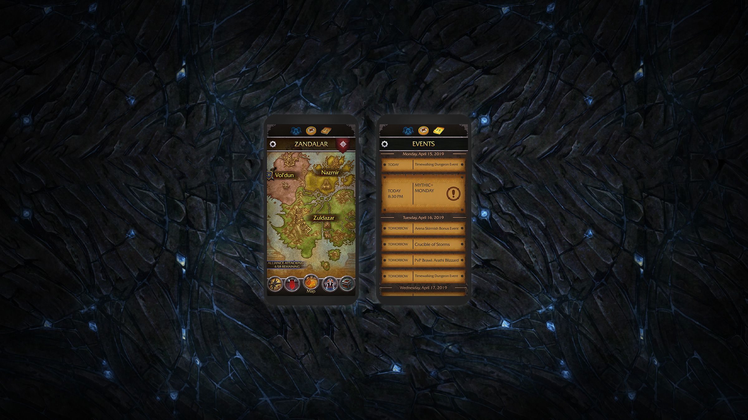 Gardez Azeroth à portée de main avec l'application WoW Companion