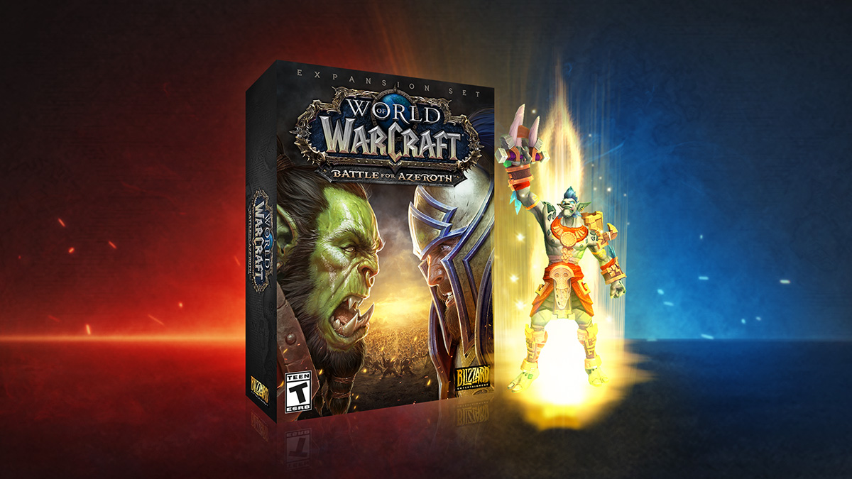 Ahorra un 50% en Battle for Azeroth® y objetos de la Digital Deluxe Edition
