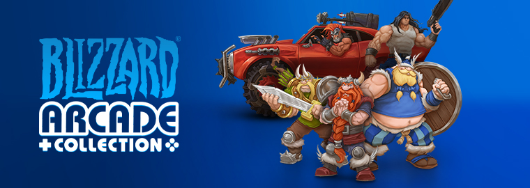 Relive the Legacy: Announcing the Blizzard® Arcade Collection