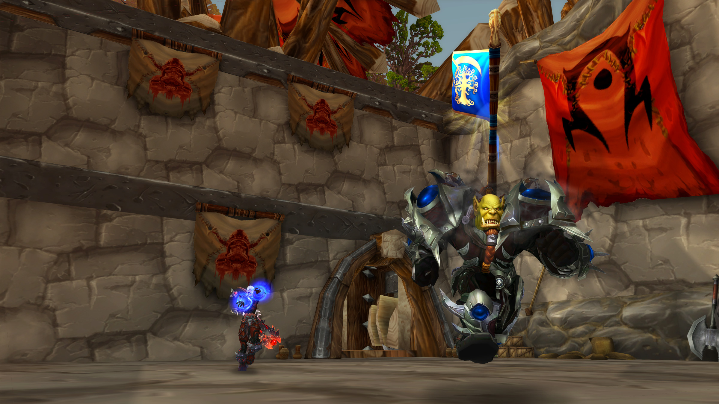 Jump Into This Week's PvP Brawl: Warsong Scramble