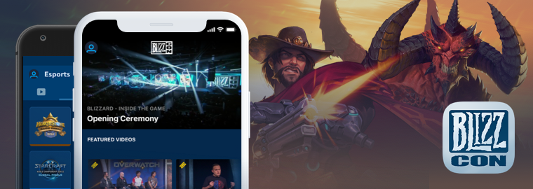 Download the 2018 BlizzCon® Mobile App Now
