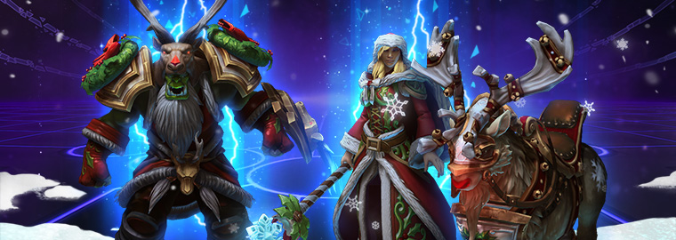Holiday XP Boost and Technical Alpha Portrait Rewards