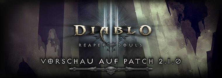 Vorschau Auf Ptr Patch 210 Diablo Iii