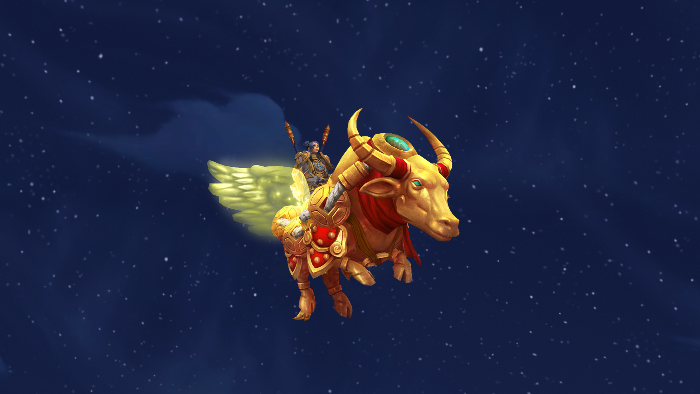 New Mount: Lucky Yun!