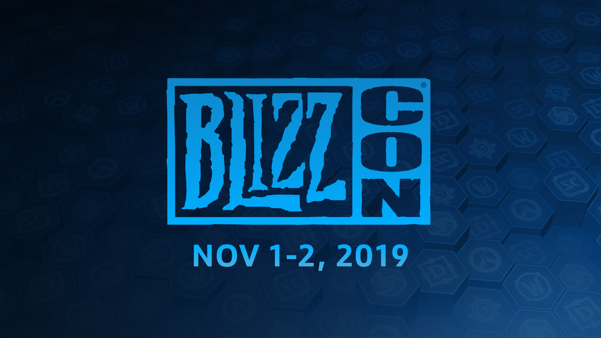Welcome Back to BlizzCon®!