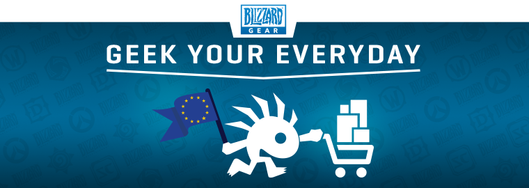 Blizzard European Gear Store Grand Opening
