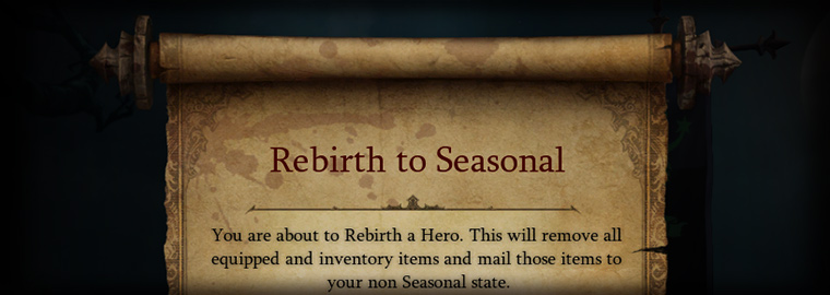 Season Rebirth Mail Expiring Soon