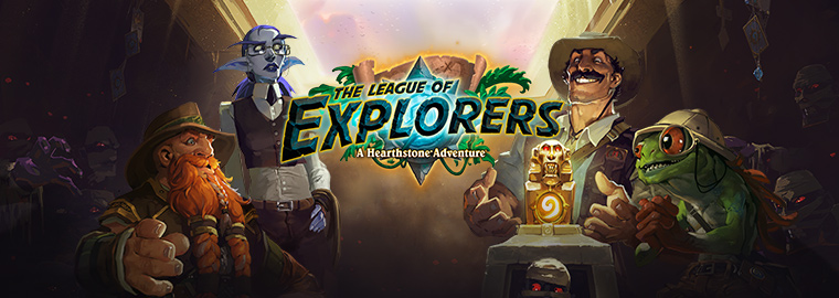Join the League of Explorers on November 12!