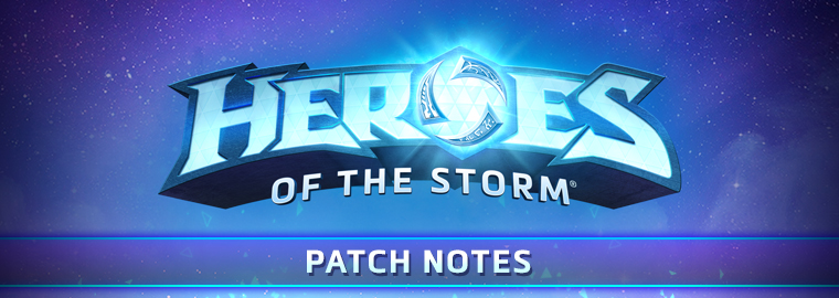 Notas de patch do RTP de Heroes of the Storm, 27 de agosto de 2018