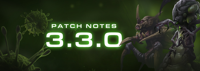Notas del parche 3.3.0 de StarCraft II: Legacy of the Void