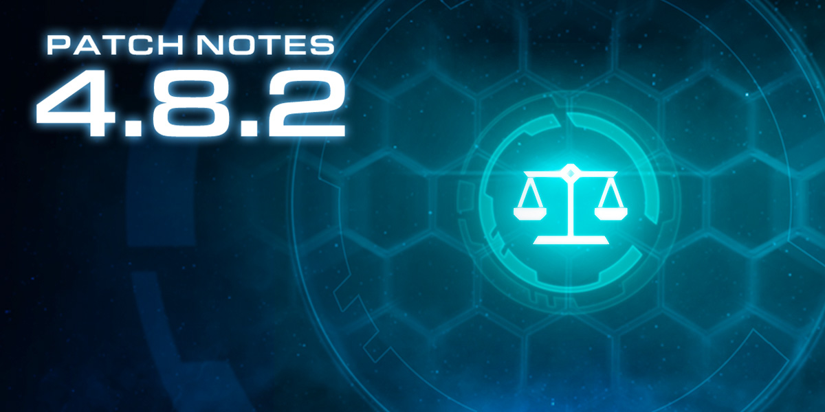 StarCraft II 4.8.2 Patch Notes
