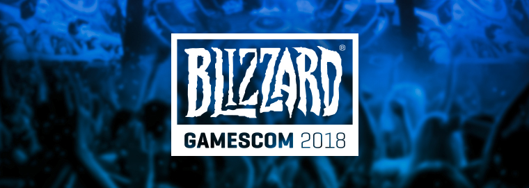Blizzard Gear at gamescom 2018