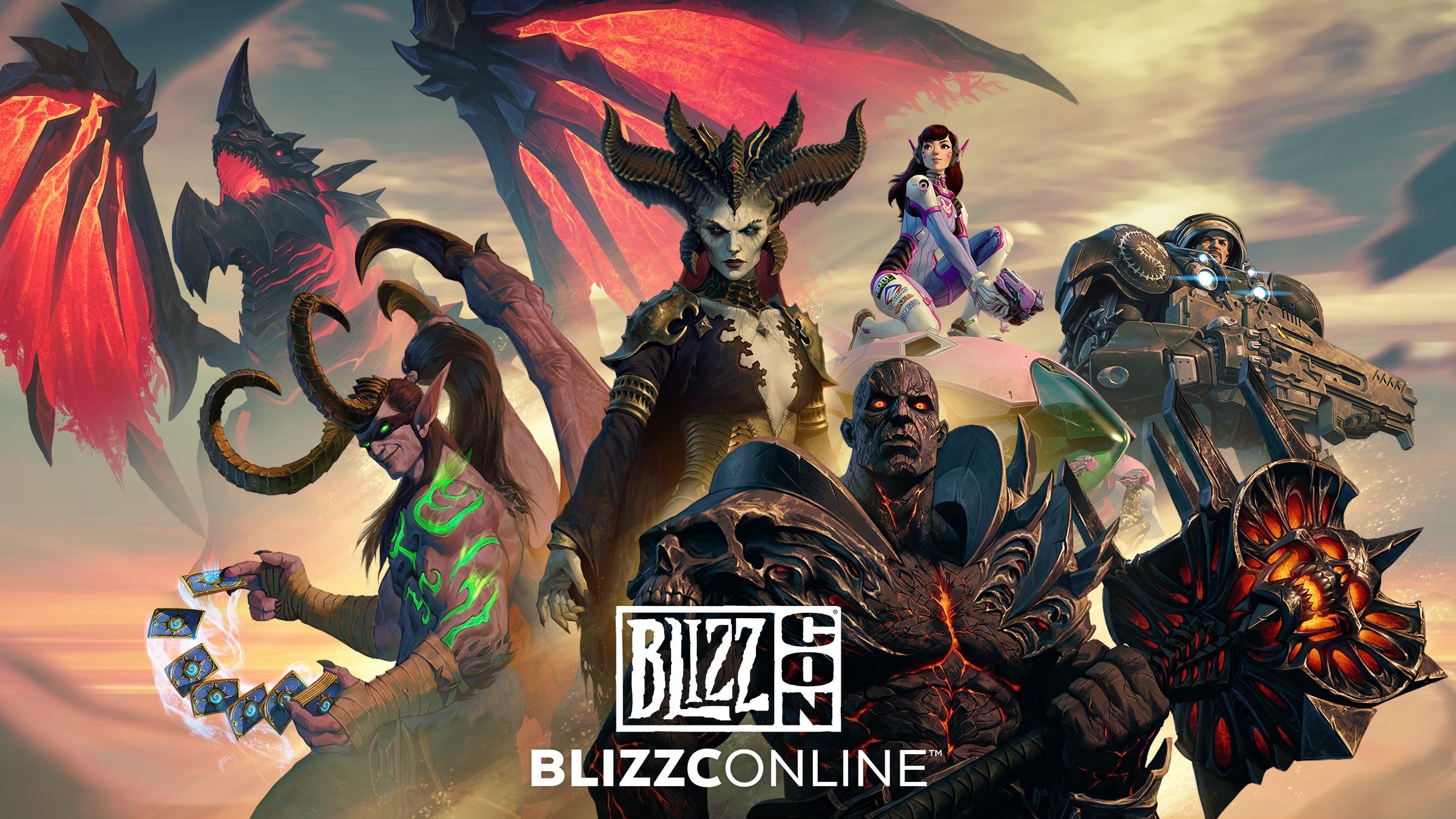 準備好在台灣時間 2 月 20 日和 2 月 21 日迎接 BlizzConline™
