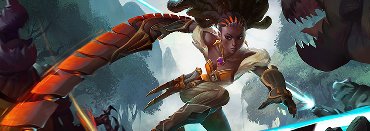 New Hero: Qhira, Iresian Bounty Hunter