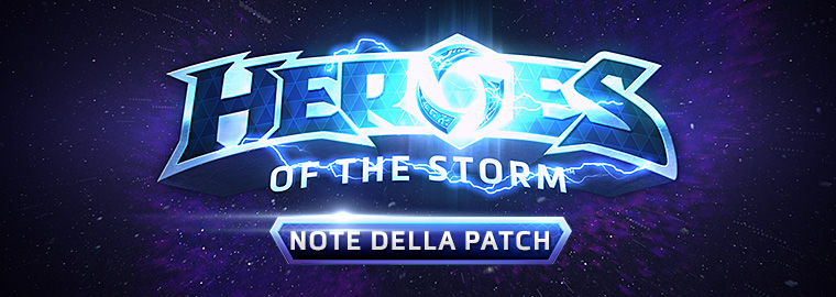 Note della patch di Heroes of the Storm - 19 ottobre 2016