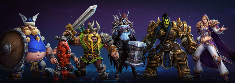 New Heroes Revealed at BlizzCon 2014
