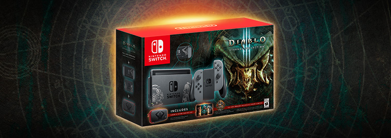Il pacchetto Diablo III per Nintendo Switch è disponibile!