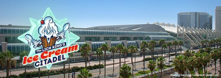 Ice Cream Citadel Descends on San Diego Comic Con!