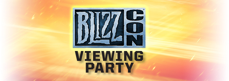 Throw Your Own Epic BlizzCon Celebration With the Virtual Ticket Viewing Party Kit