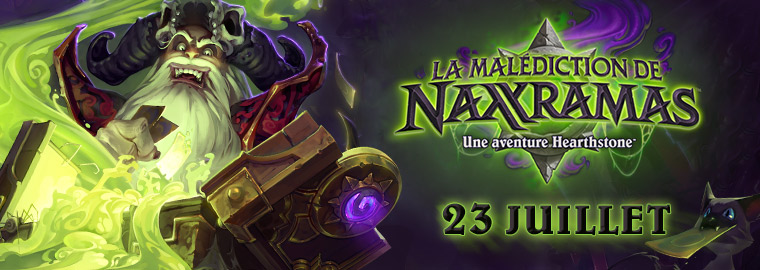 La Malédiction de Naxxramas sera disponible le 23 juillet !