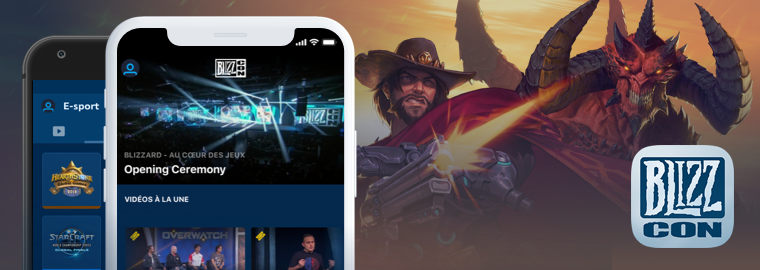 Téléchargez l'application mobile de la BlizzCon® 2018 dès maintenant