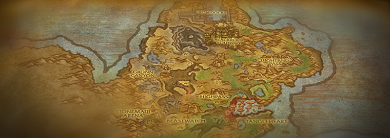 Warlords of Draenor Zone Preview: Gorgrond