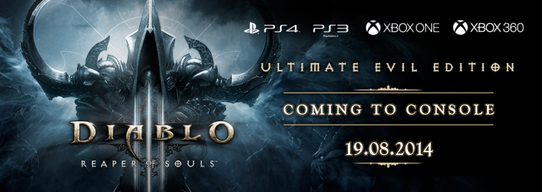 Reaper of Souls™ Coming to Console August 19