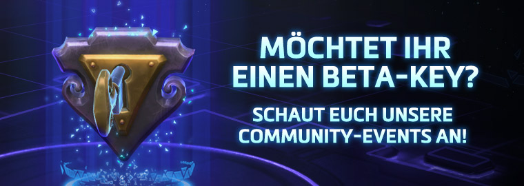 Community-Verlosungen von Beta-Keys