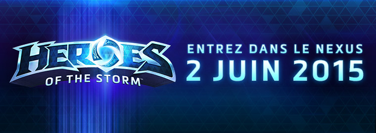 Heroes of the Storm sortira le 2 juin