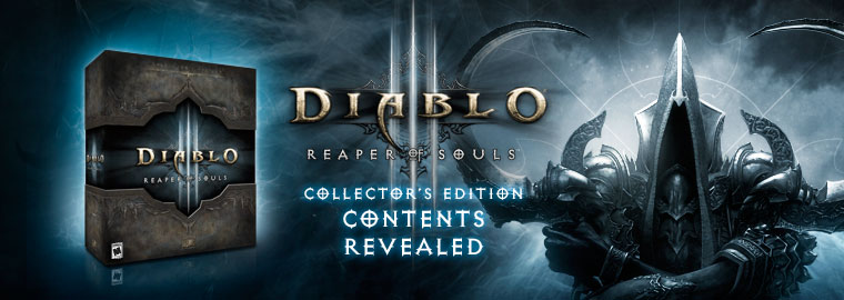Explore the Resplendent Reaper of Souls™ Collector's Edition