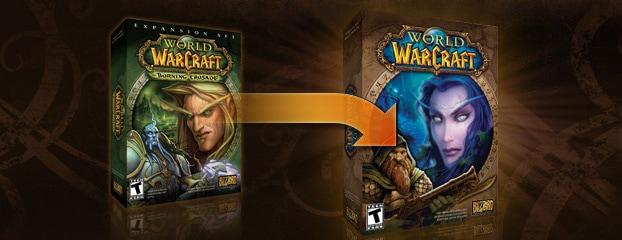 """L'extension """"The burning Crusade"""" est désormais incluse dans World of Warcraft"""