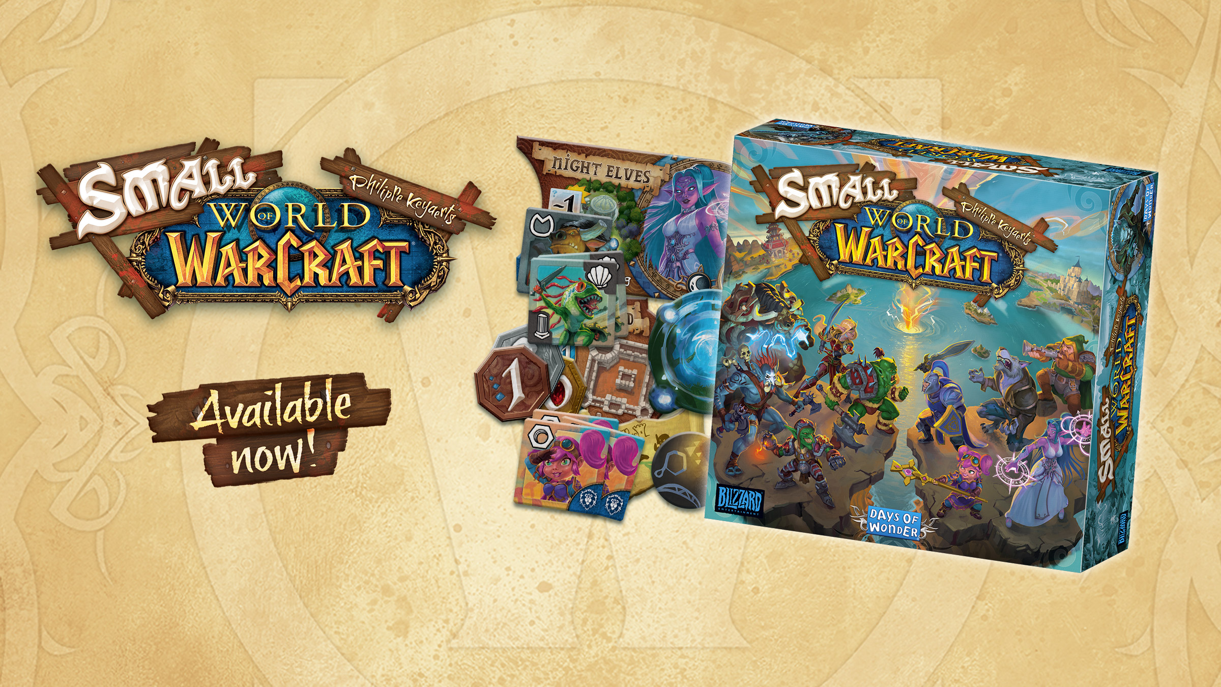 Small World of Warcraft is now available