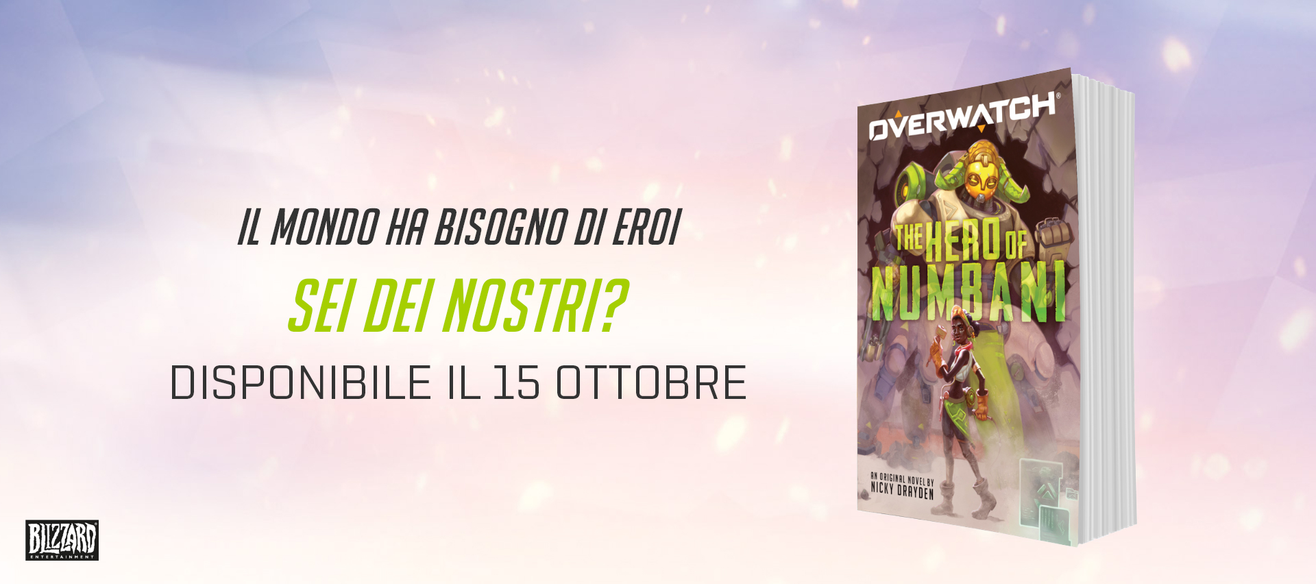 Romanzo ufficiale di Overwatch: The Hero of Numbani