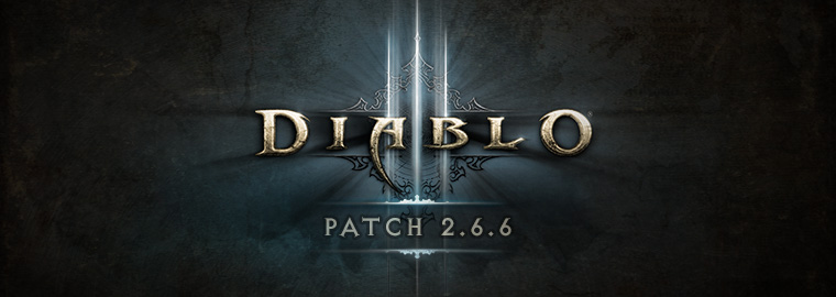 O patch 2.6.6 de Diablo III está no ar!