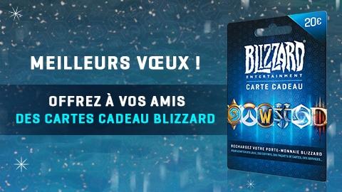 Carte Cadeau Blizzard.La Carte Cadeau Blizzard Actualites Blizzard