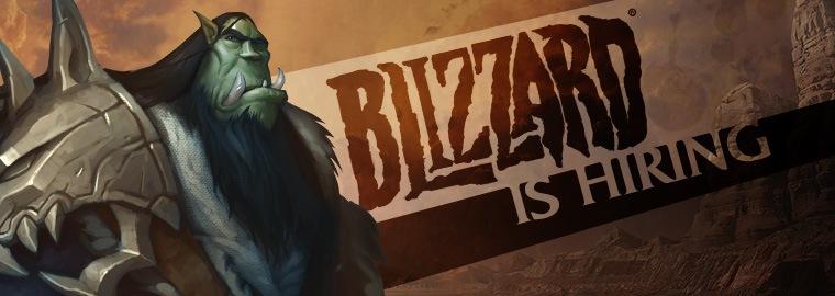 Blizzard is Hiring