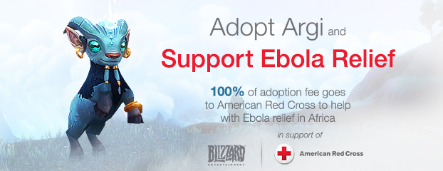 Adopt Argi Now and Support the American Red Cross