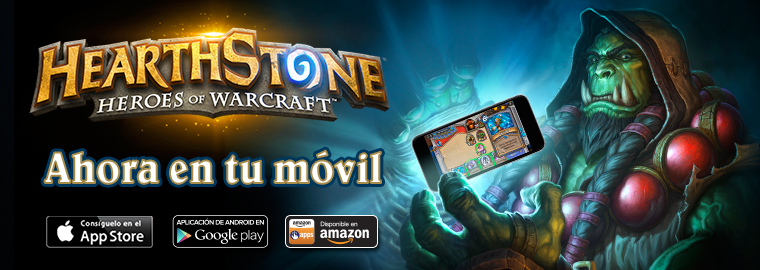 ¡Hearthstone ya disponible para móvil!