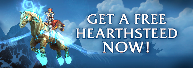 Ride Into Action on Your Hearthsteed!