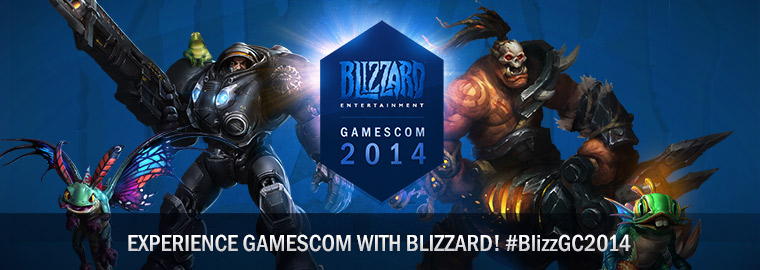 Blizzard at gamescom: Website and Live Stream