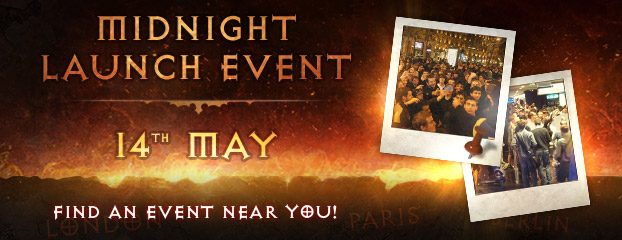 Diablo III Midnight Launch Events