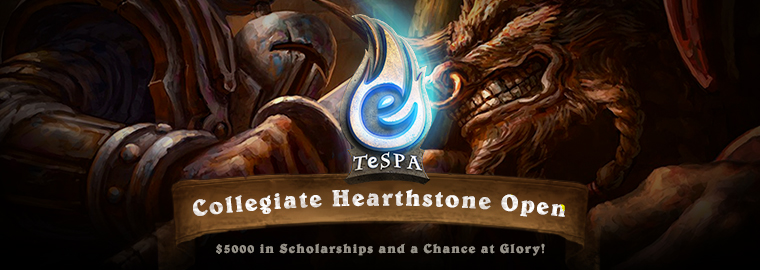 Be In College, Play Hearthstone, Win Big!