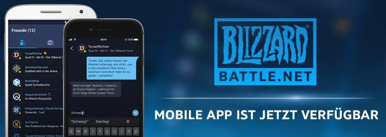 Blizzard Battlenet Mobile App Jetzt Verfügbar Alle Neuigkeiten