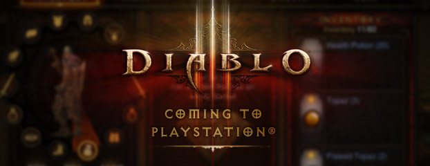 Diablo III Coming to PlayStation®3 and PlayStation®4