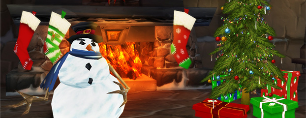 for the first couple of days of january you still have an opportunity to enjoy the feast of winter veil while enjoying a freshly nutmegged cup of nog - World Of Warcraft Christmas