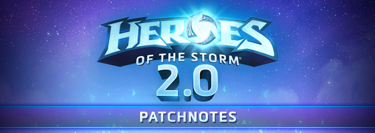 Notas de patch de Heroes of the Storm, 25 de setembro de 2018